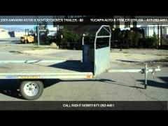 2-place Trailer Rental
