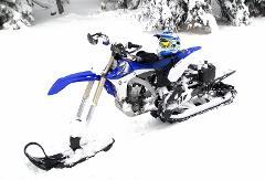 "Full Day Rental on a Yamaha WR 450f (129"" track)"