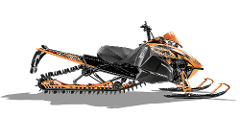 "Full Day Tour on a Arctic Cat Sno Pro 162"" Track Sled (800cc)"