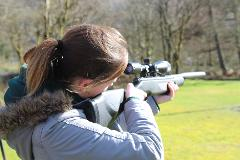 Air Rifles @ Forest Holidays Strathyre