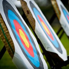 Archery at Fort Augustus Abbey, Loch Ness
