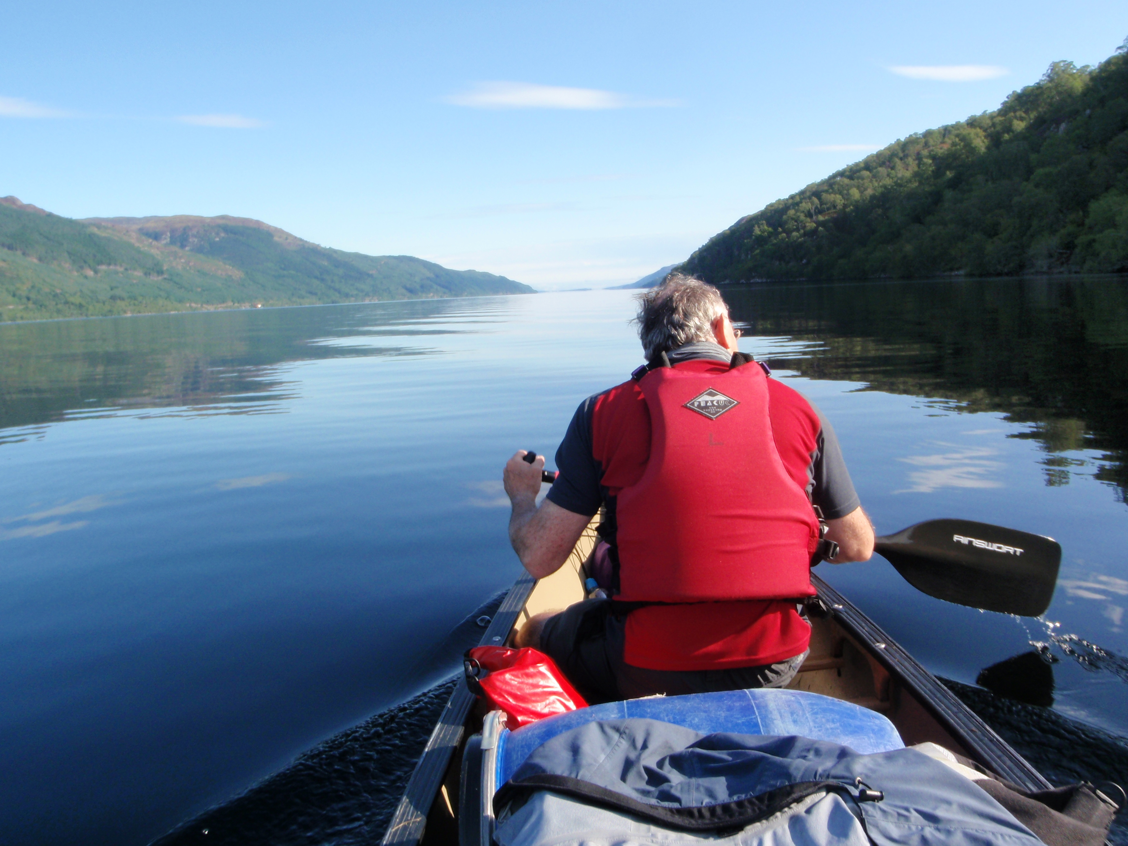 Gift Voucher -  Canoeing - Explore Loch Ness (2.5 hrs) for Under 18s