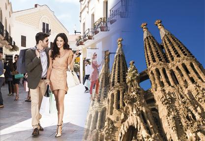 COMBO Gaudí & Shopping Offer
