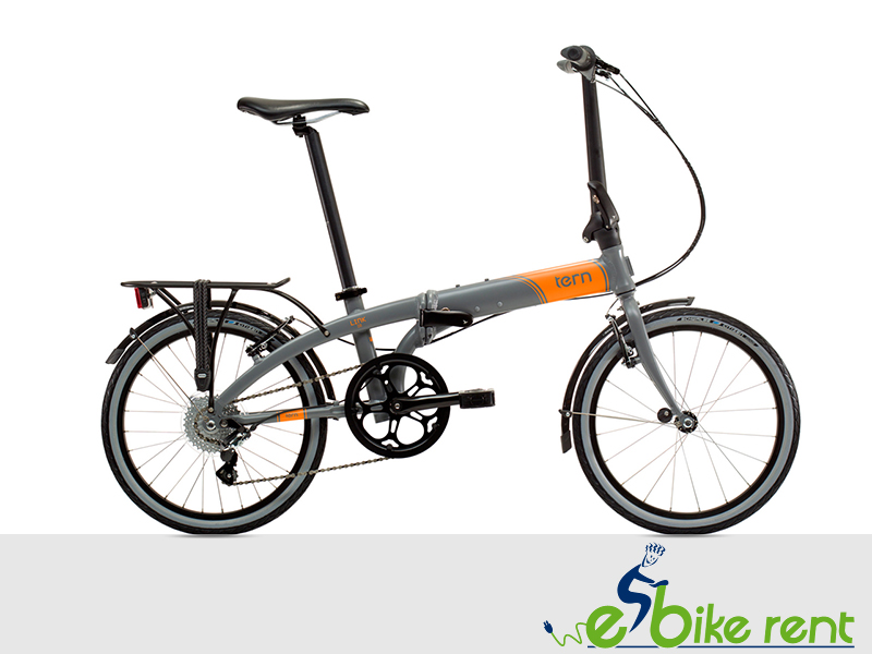 Foldable bike 8 gears