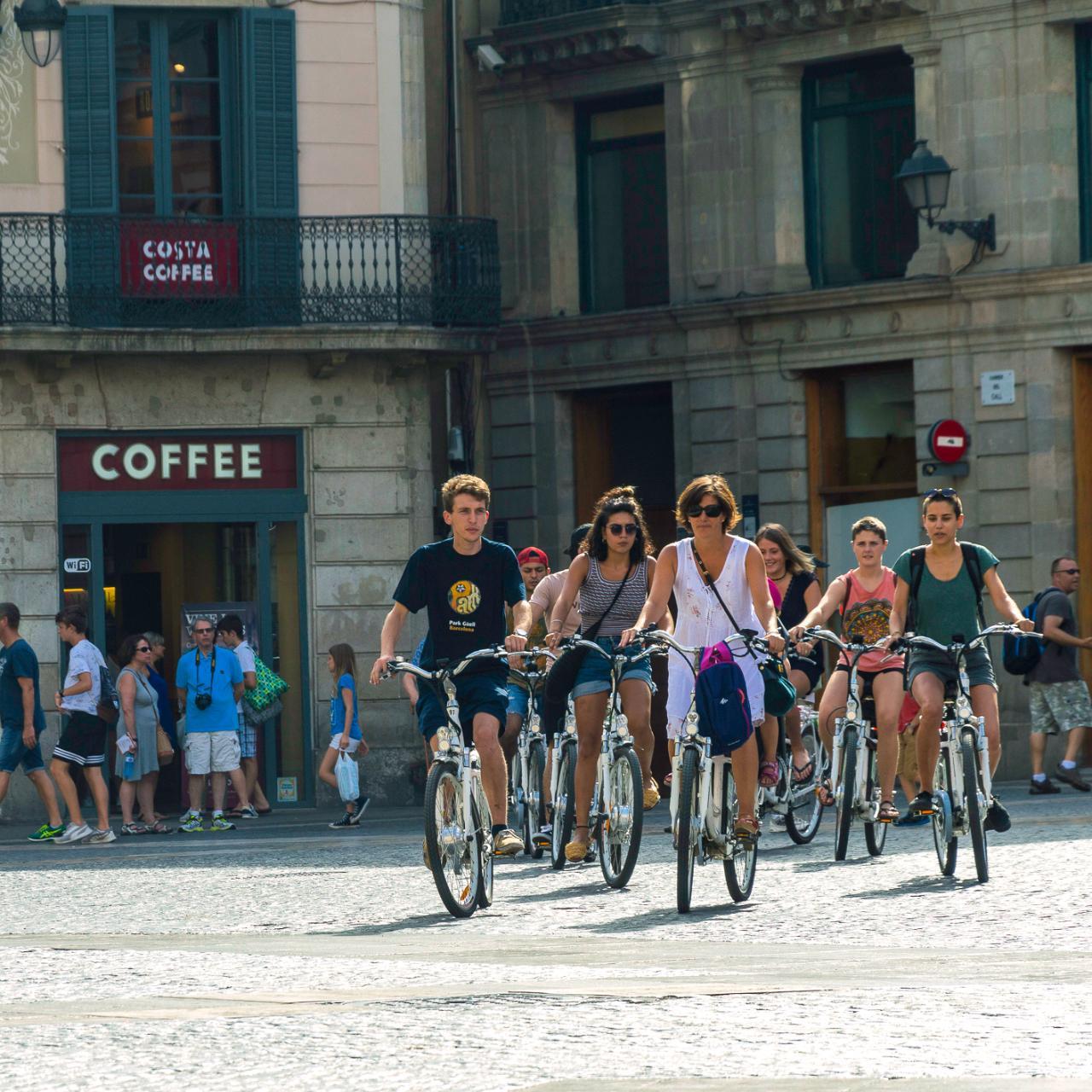 VIP Private Barcelona ebike Tour - 3hrs