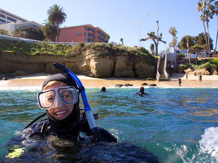 1-Tank Guided Refresher Dive - La Jolla Shores