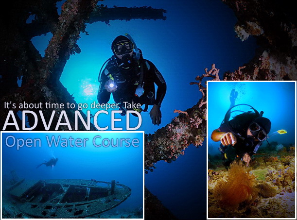 PADI Advanced Open Water Certification