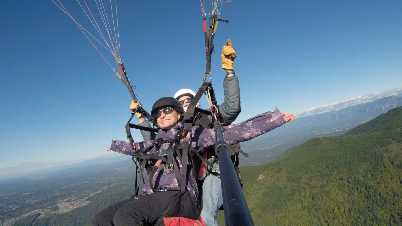 Seattle Tandem Paragliding