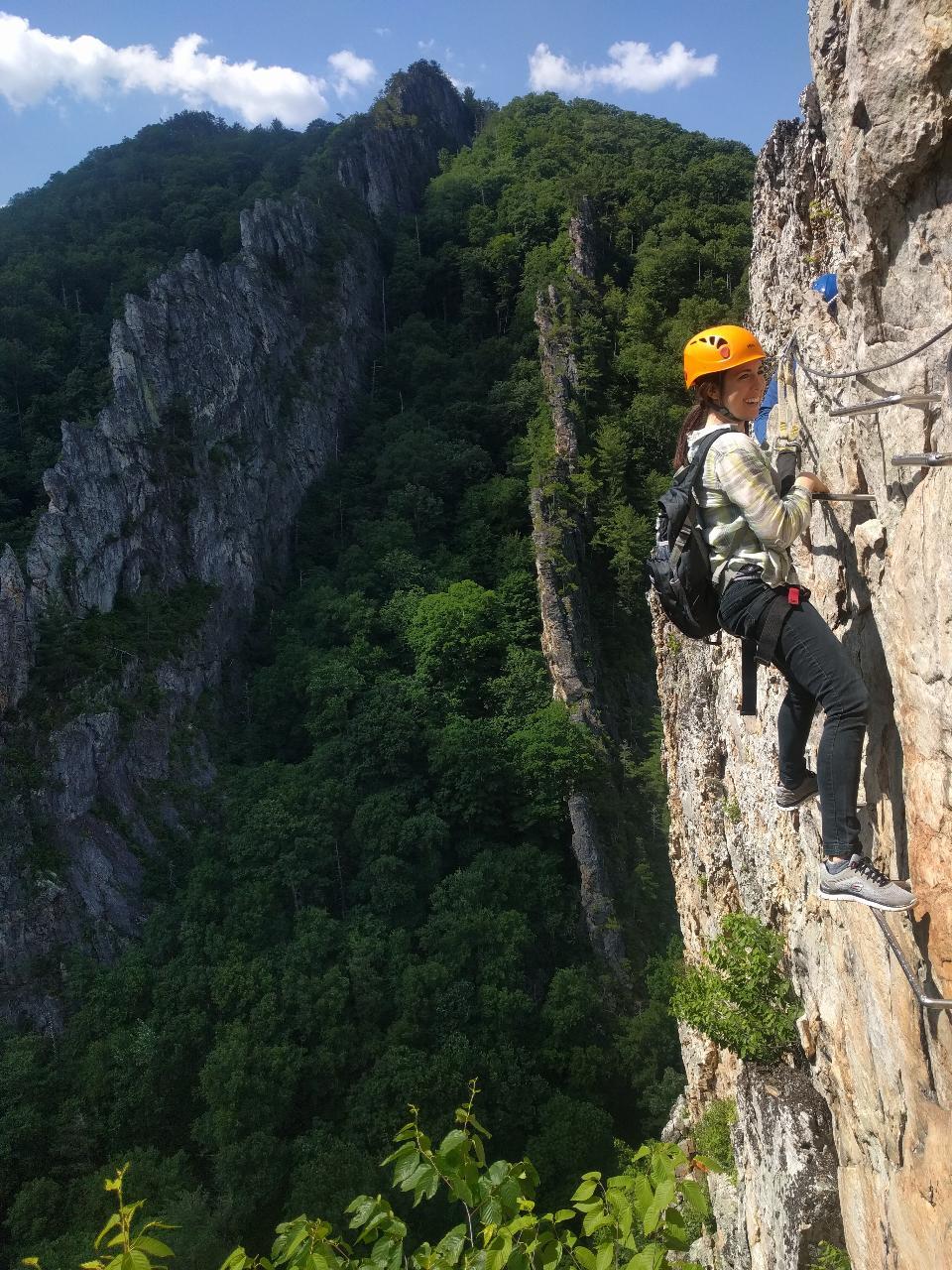 West Virginia Via Ferrata Rock Climbing