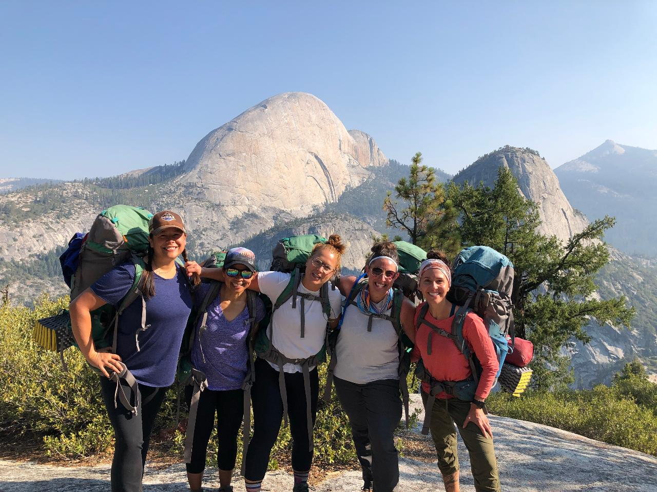 Women's Yosemite Half Dome Backpacking