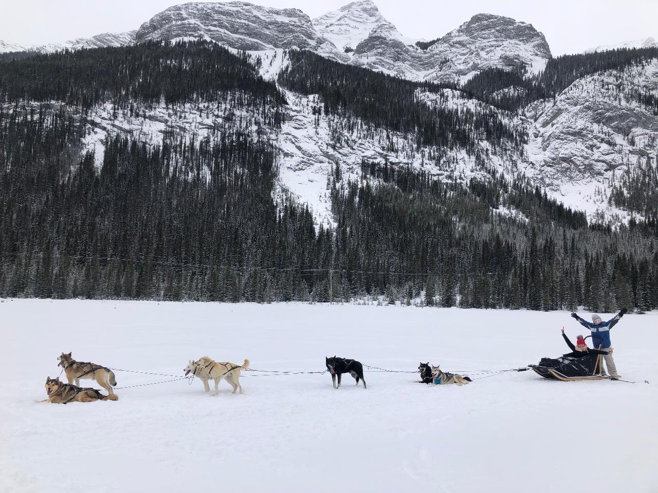 Canadian Rockies Winter Weekend Adventure