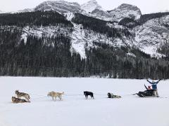 Canadian Rockies Winter Weekend Adventure