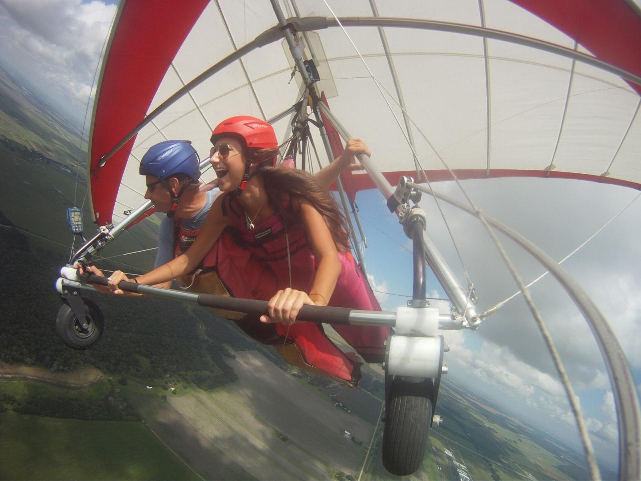 Hang Gliding in Houston Texas