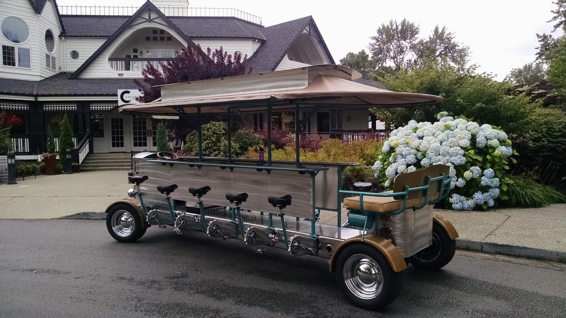 Seattle Party Pedal Wagon Winery Tour