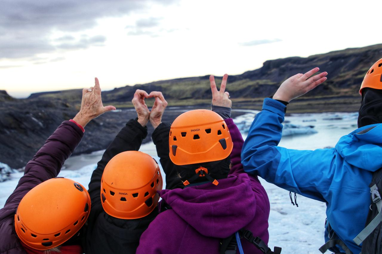 Iceland Glaciers and Hot Springs Winter Adventure