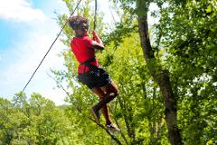 Ziplining and Paintball in Brown County