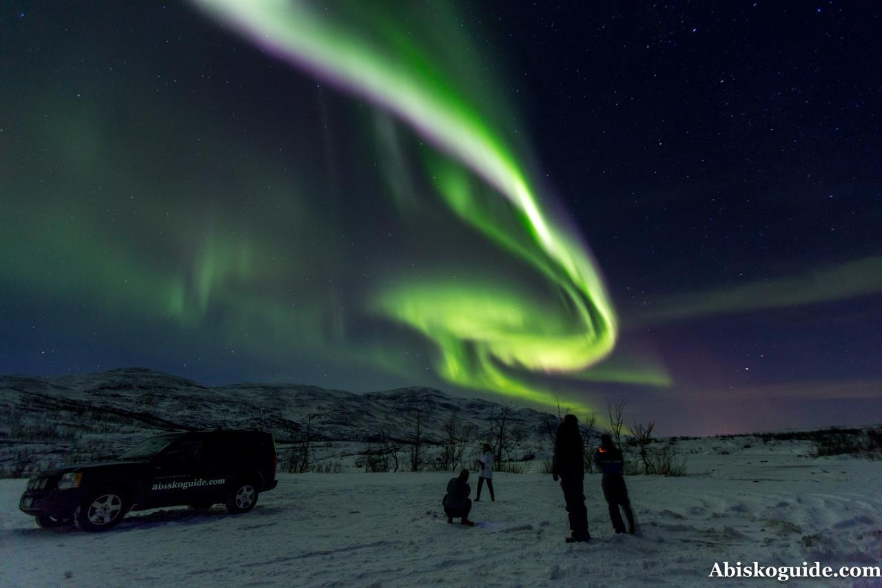 Aurora hunting tour
