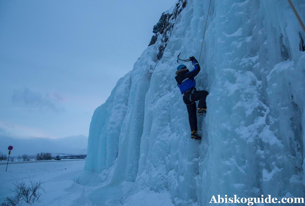 Private Ice Climbing
