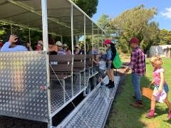 April School Holiday Special Tractor Ride Tour with 'Pick Your Own' Pink Lady Apples