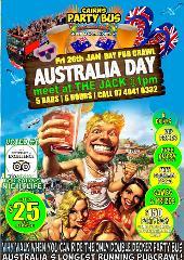 Australia Day  Pubcrawl/Pool Party
