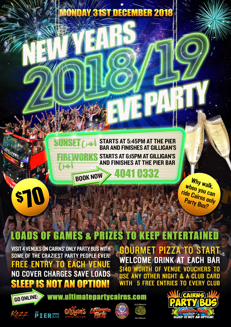 New Years Eve Party #1 - Sunset Crawl