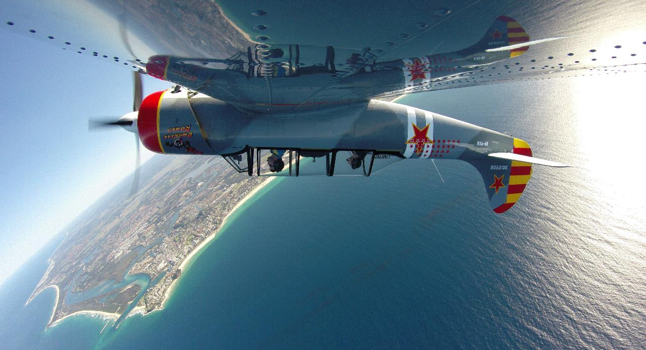 Teaser Aerobatic Flight