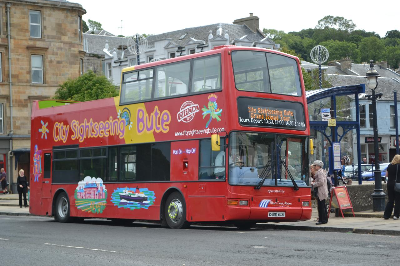 City Sightseeing Bute open-top bus tour