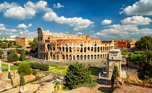 COLOSSEUM, PALATINE HILL AND ROMAN FORUMS	SHOW AND GO