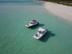 30ft Power Cat Full Day Private Charter South Shore