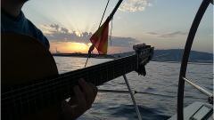 Sunset Spanish Guitar Live & Sailing Experience Barcelona 2 h. - 21