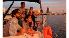 Unique Sunset Sailing Experience Barcelona 2 h. - 21