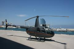 6 Minutes Helicopter Flight in the Afternoon