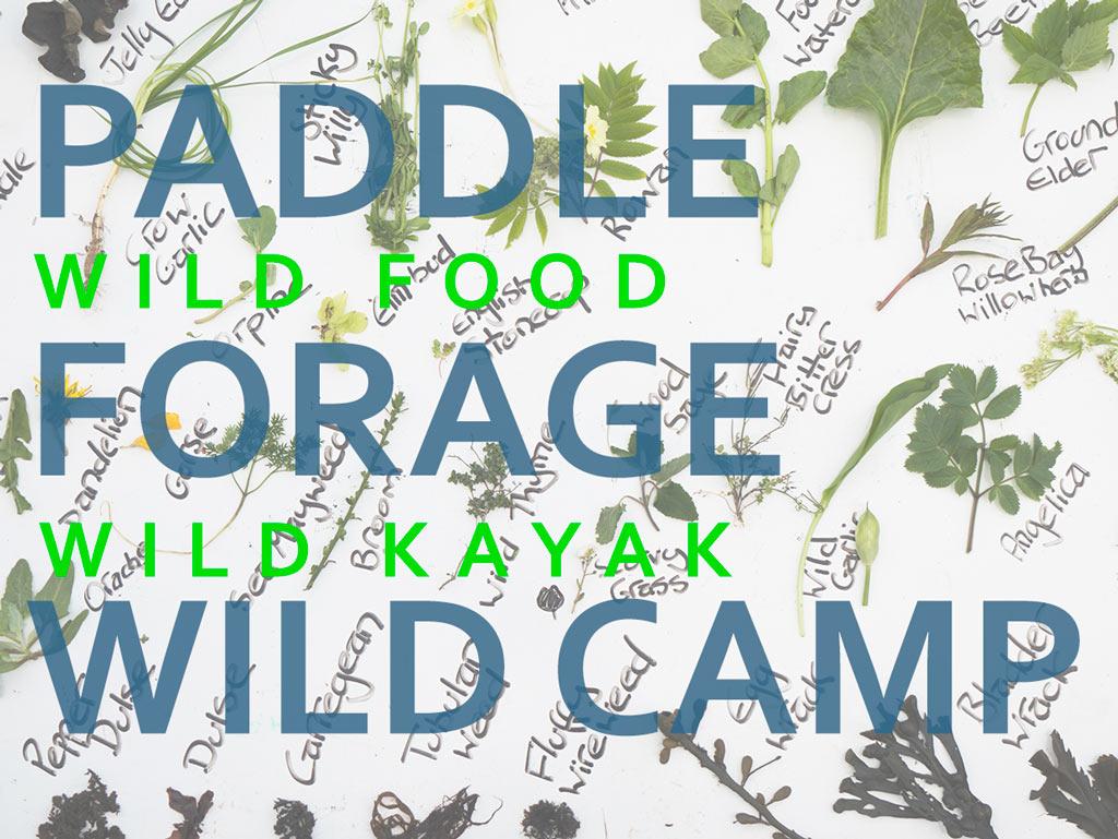 Paddle, Forage & Wild Camp
