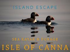 Island escape - Sea kayak & Forage Isle of Canna