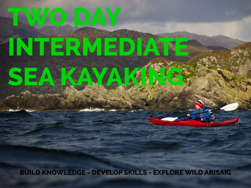 Two Day Intermediate sea kayaking