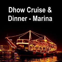 Dubai Dhow Cruise at the Marina + Dinner