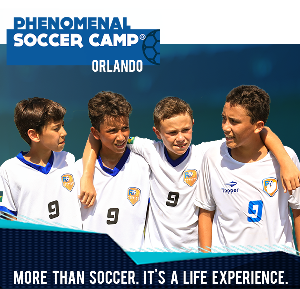 Phenomenal Soccer Camp - Orlando - Registration WEEK 1