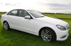 Private Leisure transport- Mercedes C-class sedan, up to 4 people