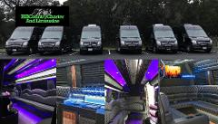 14 Passenger Mercedes Benz Sprinter Limousine Party Coach