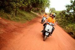 Vespa Countryside Life Siem Reap