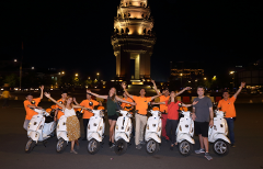 Vespa Phnom Penh After Dark - Nightlife & Foodie Adventure