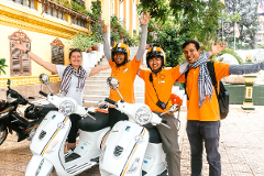 Vespa Adventures: Insiders Phnom Penh