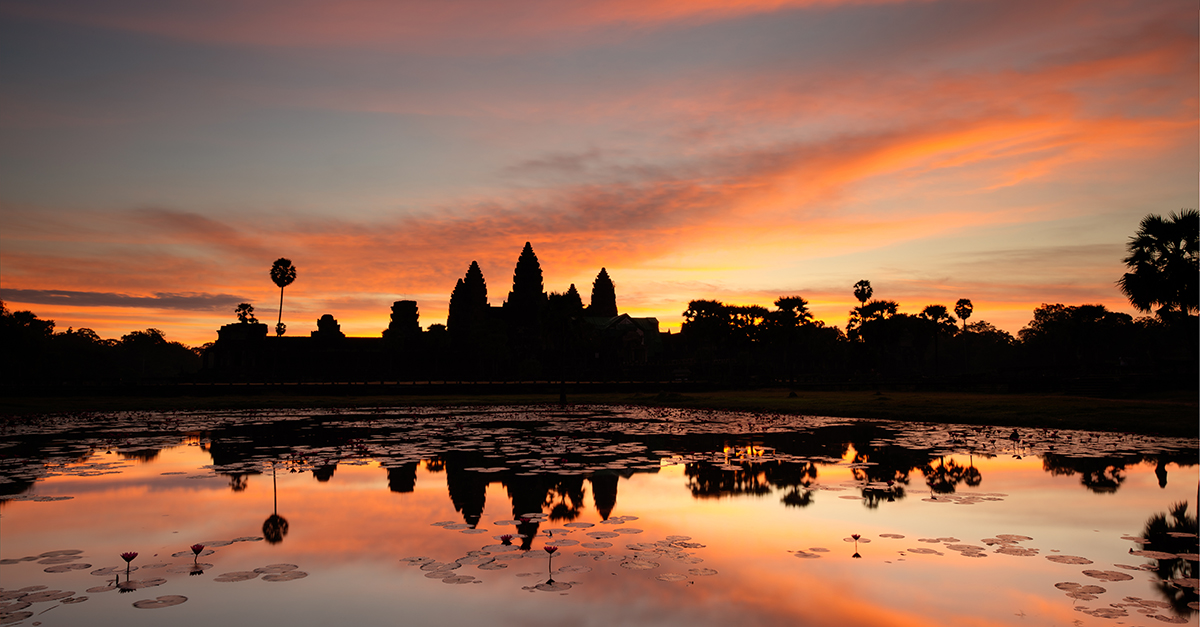 Angkor Sunrise Discovery