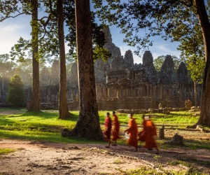 Angkor at Twilight (Agent Private)