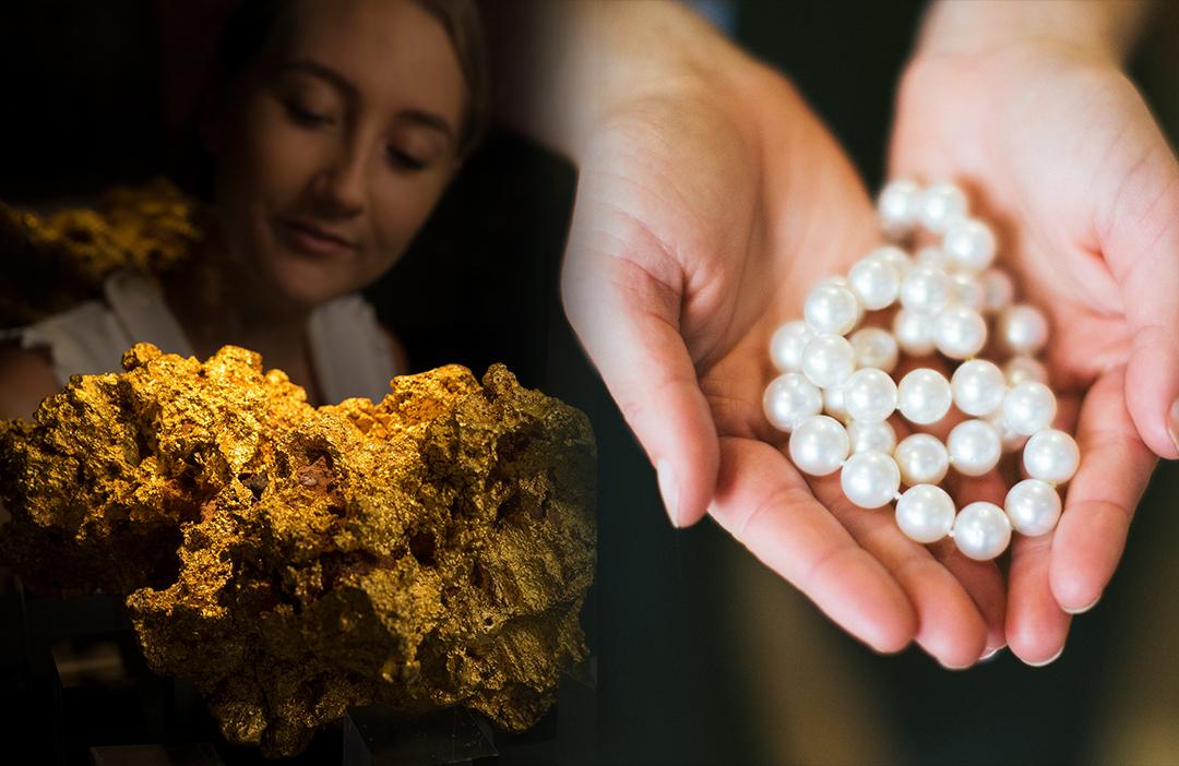 Treasures of WA – Gold and Pearls