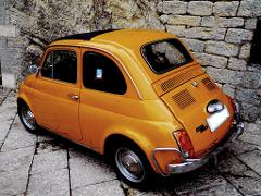 Sightseeing tour of Rome by Fiat 500