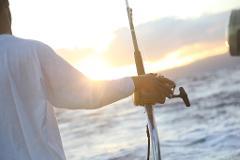 Day fishing at Rome Lido