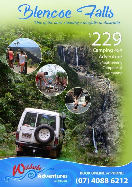 Blencoe Falls 4 X 4 Overnight Camping Tour