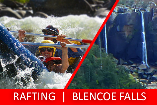 Full Day Sports Rafting & Blencoe Falls Tour PACKAGE