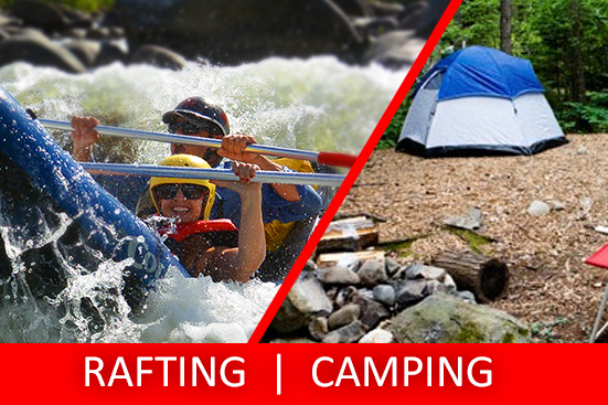 Half Day Sports Rafting & FREE CAMPING